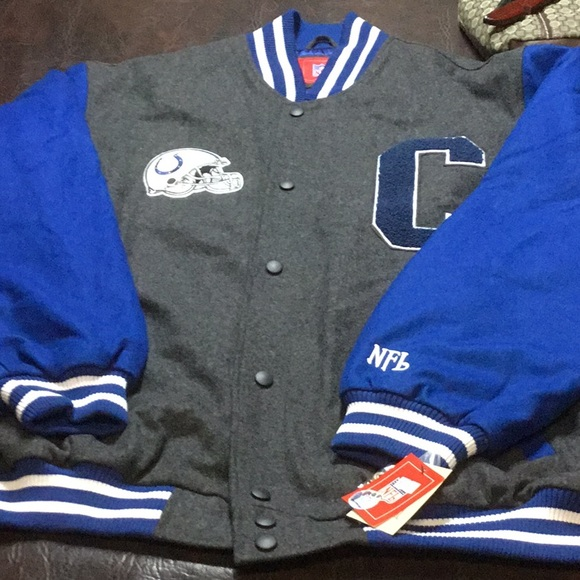 online store b56ff 5024a Indianapolis Colts Jacket NWT